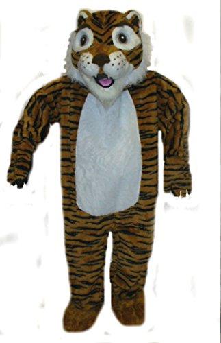Mascots USA by CJs Huggables Custom Professional Low Cost Tiger Mascot Costume - Tiger Mascot Costume Cheap