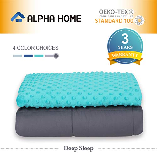 Cheap ALPHA HOME Weighted Blanket 5 lbs 36