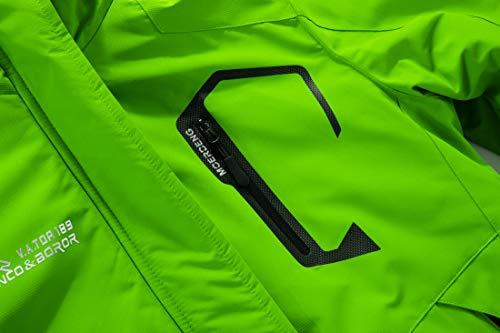 MOERDENG Men's Waterproof Ski Jacket Warm Winter Snow Coat Mountain Windbreaker Hooded Raincoat Snowboarding Jackets