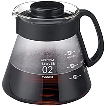 Hario V60 Glass Range Server (600ml, Size 02)