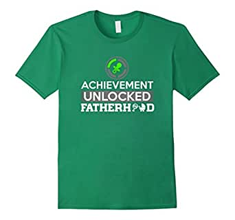 Mens First Time Dad - Dad To Be - First Father's Day T-Shirt 3XL Kelly Green