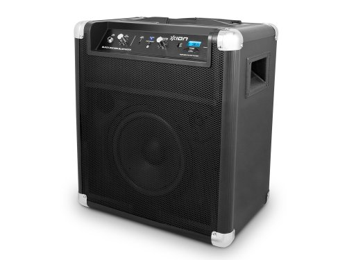 ION Audio Block Rocker (iPA56B) | Bluetooth Portable Speaker with Auxiliary USB Charger [2013 Model]