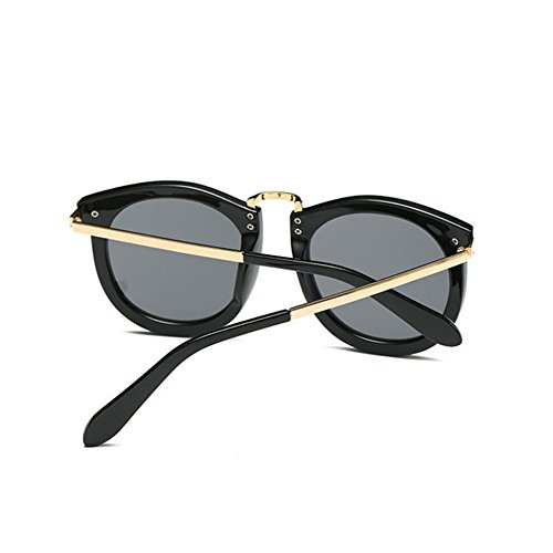 Aoligei Métal haute définition lunettes de soleil européen et américain mâle Lady général lunettes de soleil shing Fashion Rivet fMRyIMkc
