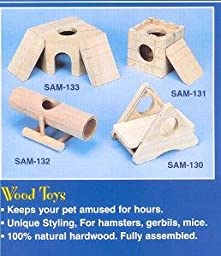 Penn-Plax Tunnel-O-Fun - Wood Toy