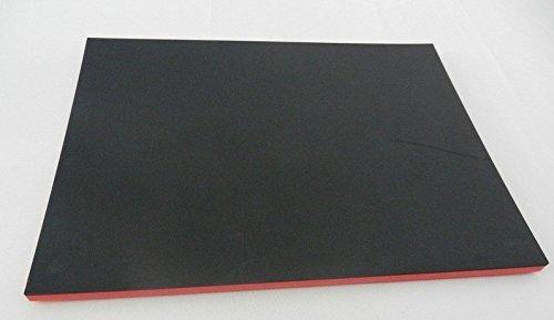 500 x 600 x 30 mm 64,95 /€//m/² Herramientas Sistema Recambio para Universal Negro//Rojo