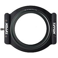 Tiffen Step Ring Camera Lens Square Filter, Black (PRO100HDR77)