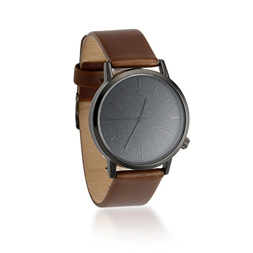 Oct17 Men's Modern Watch Classic Faux Leather Stainless Steel for Business Military Sport Quartz Star Wrist Watches