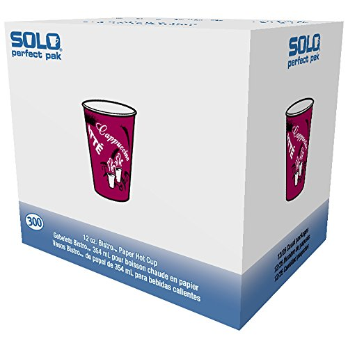 - Solo OF12BI-0041 12 oz Bistro SSP Paper Hot Cup (Case of 300)