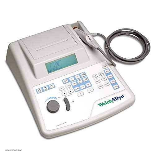 Welch Allyn TM286 AutoTymp Pure Tone and Tympanometry Screener with Tympanometry Mode, Reflex Mode, and Audiometry Mode
