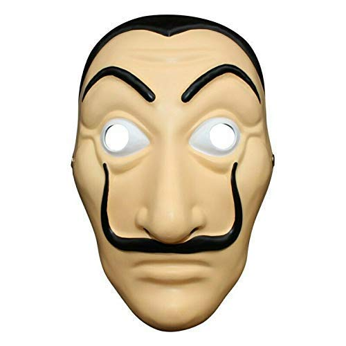 Liwazo La Casa De Papel Mask Money Heist Salvador Dali Face Mask