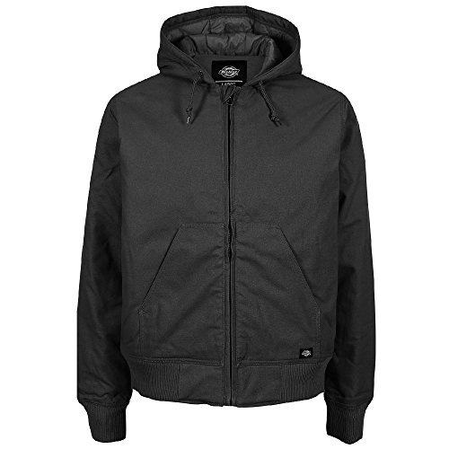 Dickies Bennett Zip up Jacket Black by Dickies