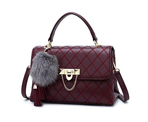 Gkkxue Shoulder Bag Women Handbag Bag Lingge Shoulder Bag Women Bag Messenger Bag Tote Bag Network