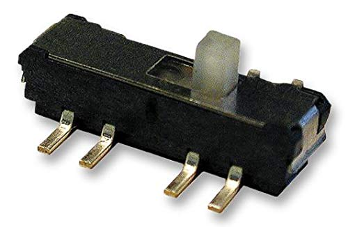MMS 228 T - Slide Switch, DPDT, Vertical, SMD, 300 mA RoHS Compliant: Yes (Pack of 20) (MMS 228 T) by KNITTER-SWITCH