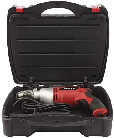 SKIL 1 2-inch Corded Hammer Drill w 100-Piece Accessory Set and Hard Case, 7-amp Variable Speed 6445-05