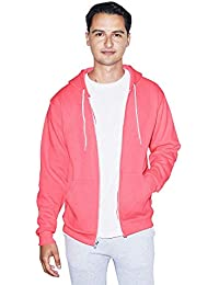 American Apparel Men's Flex Fleece Long-sleeve Zip Hoodie