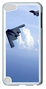 Apple iPod 5 Case, Apple iPod 5 Cases -B 2 Spirit And F 15 Eagles PC case Cover for iPod Touch 5 and Apple iPod 5 White