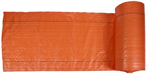 Mutual MISF 1845 Polyethylene Silt Fence Fabric, 1500' Length x 36