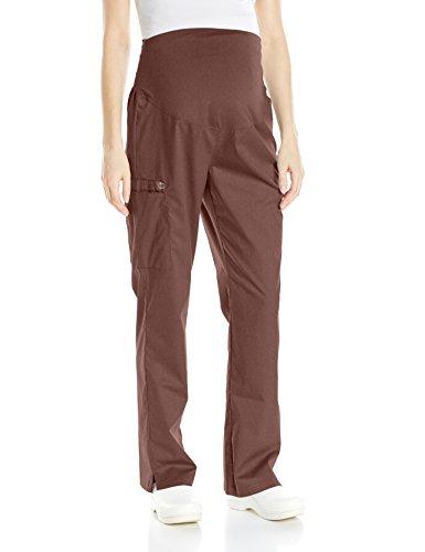 - WonderWink Women's Plus Size Wonderwork Maternity Pant, Chocolate, 3X-Large