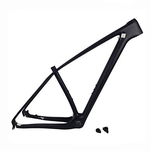Fasteam 29er Ud Matt Carbon Fiber Mountain Bike Frame 135x9 and 142x12mm Thru Axle Compatible MTB Carbon Frame (17'') ()