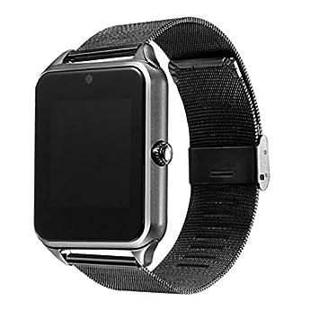 Smart Watch Plus Correa De Metal Soporte Cámara Sim TF ...