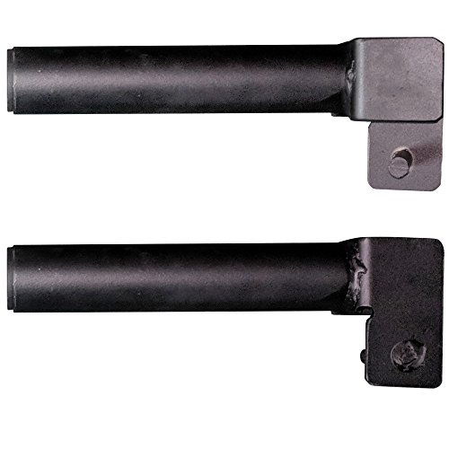 Set of 2 Titan J-Hook Style Plate Holders for Mass Storage System by Titan Fitness