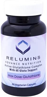 3 Bottles Relumins Advance White Active Glutathione Complex -Oral Whitening Formula Capsules with 6x Boosters- Whitens, Repairs & Rejuvenates Skin