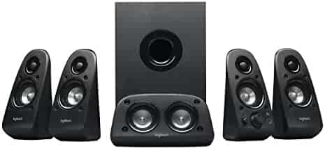 Logitech Z506 Surround Sound Home Theater Speaker System