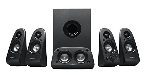 Logitech Z506 5.1 Surround Sound Speaker System with THX Sound (980-000430)