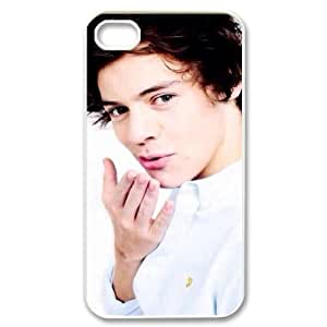 I-Cu-Le Customized Print Harry Styles Pattern Back Case for iPhone 4/4S