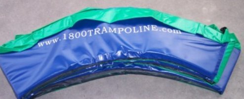Family Store Network Blue and Green USA Made 13' Trampoline Frame Pad 12'' Wide