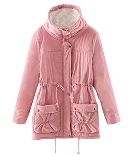 Soprabito Parka Manica Giacche Casual Autunno Caldo Fr Media Coat Lunghezza Cappotto Cime ulein Inverno Lunga Fox Tops Moda vTvFqHw4