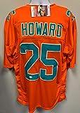 Xavien Howard Signed Autograph Custom Jersey Orange