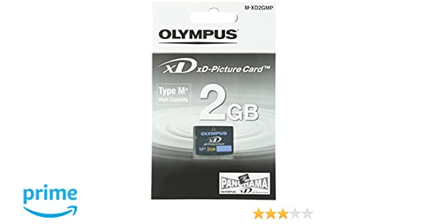 Olympus Picture Card Type My - Tarjeta de memoria (2 GB, xD, 3,3V), color negro
