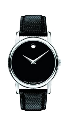 Movado Men's 2100002 Museum Black Stainless Steel Watch