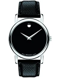 Mens 2100002 Museum Black Stainless Steel Watch