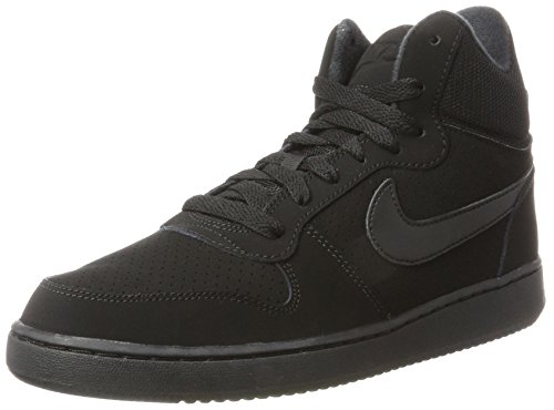Donna Nike Court Black Mid Nero Sneaker Borough Black qUIAwU