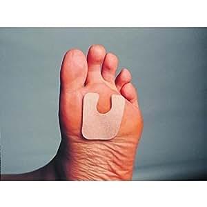 performancefoot u shaped pad 1 8 inch felt 50 health personal care. Black Bedroom Furniture Sets. Home Design Ideas