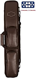 Stecca da biliardo della Buffalo per 4unterteile/8involucro colore marrone Winsport
