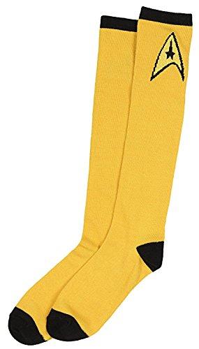Star Trek Socks Uniform Costume Dress Adult (Command) -