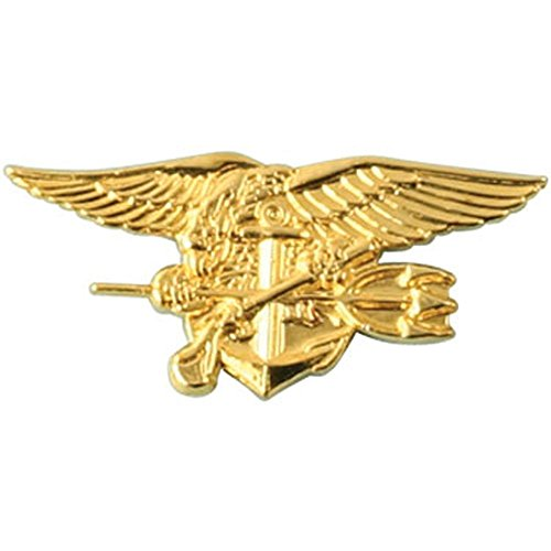 - U.S. Navy Special Warfare Seal Trident 1 1/8