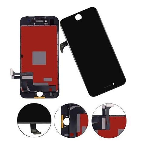 Ibaye Reemplazo de la Pantalla LCD para iPhone 7 4.7 Pulgadas Pantalla táctil 2018 diseño Negro Conjunto de la Foto digitalizador Conjunto Completo con ...