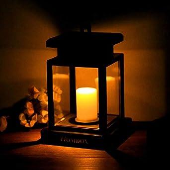 LED Lanterne solaire lampe solaire lampe suspension avec ...