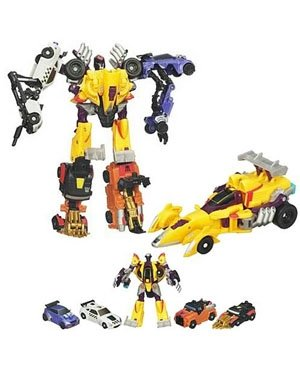 Transformers Combiner Stunticon by Transformers