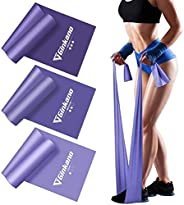Haquno Resistance Bands Set, [Set of 3] Skin-Friendly Exercise Bands with 3 Resistance Levels,Workout Resistan