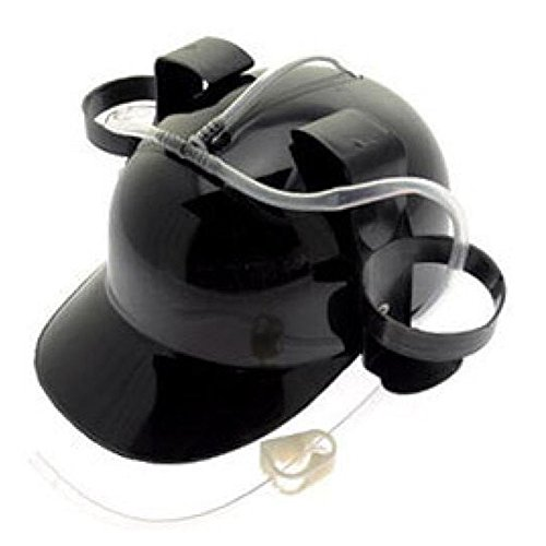 Detachable Tiger Hat Serves Beer Soda at a Drinking Party (Black)
