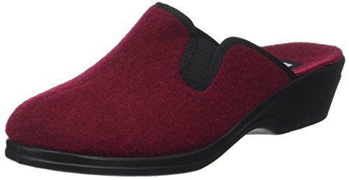 Romika Femme rot 126 Remo Mules Rouge Chaussons gwrgCq
