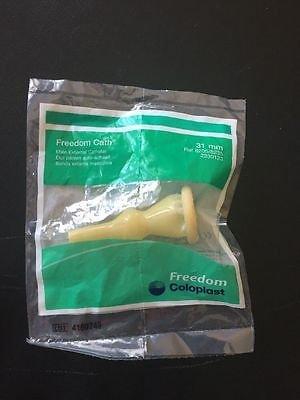 External Reservoir - 3 Pack -Coloplast Freedom Cath®, 31mm Intermediate, Self-Adhering Male External Condom Catheter Soft Latex #8205/8235