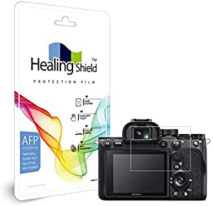 Healingshield Screen Protector Oleophobic AFP Clear Film Compatible with Sony A7R4 [2pc]