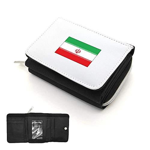 Rabat Portefeuille Noir À Porte monnaie Drapeau Mygoodprice Iran qE0dx8TndW