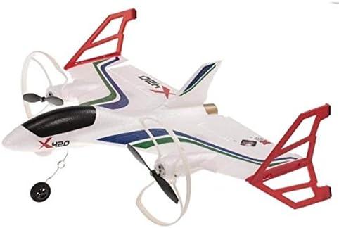 飛行機 おもちゃ 初心者と成人のための垂直フライトモデル飛行機デスクトップの装飾 初心者 子供向け (Color : White